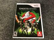Nintendo Wii 2009 Ghostbusters The Video Game