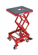 Extreme Max 5001.5083 Hydraulic Motorcycle Lift Table 300 Lb.