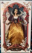 Disney D23 Limited Edition 17 Snow White Doll New In Box