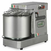 Famag Im-10s Spiral Dough Mixer For Home Or Commercial Sparkle Silver