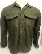Unissued Vietnam Andlsquo71 Helicopter Pilot Us Army Hot Weather Flyers Shirt Med/short