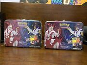 X2 Pokemon Battle Styles Collector's Chest Spring 2021 Lunch Box Factory Sealed
