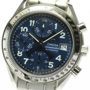 Omega Speedmaster 3513.82 Date Chronograph Automatic Menand039s Watch_635608