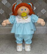 Vintage 1985 Cabbage Patch Doll In Excellent Condition W/paci