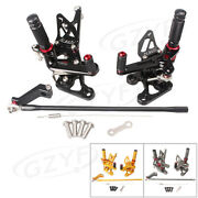 Pair Motorcycle Footpeg Rearsets Foot Peg For Yamaha Fz8 Fz1 All Years
