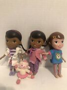 Doc Mcstuffins 2 Doctor Dolls 1 Vet Asst Doll And Lambie Doll Figurines