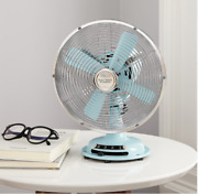 Better Homes And Gardens 8'' Retro 3-speed Metal Table Fan