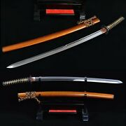 High Quality Clay Tempered T10 Steel Blade Japanese Sword Sharp Nice Sword
