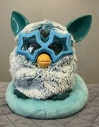 Hasbro 2012 Furby Blue Teal Taboo Tstd Works And Sling Back Chair