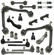 20 Pc Idler And Pitman Control Arms Sway Bar Kit For Chevrolet/gmc C1500 Suburban