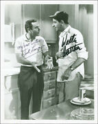 Odd Couple Movie Cast - Photograph Signed With Co-signers