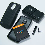 Acesoft 6300mah Extended Battery Usb Charger Case F Samsung Galaxy S4 Mini I435l
