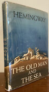 The Old Man And The Sea By Ernest Hemingway First Edition W/original Dust Jacket