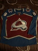 Cale Makar Colorado Avalanche Adidas Mic Made In Canada Home Jersey