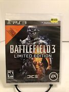 Battlefield 3 -- Limited Edition Ps3