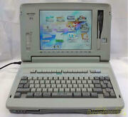 Sharp Wd-m700 Japanese Vintage Word Processor As-is