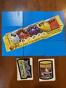 1974 Topps Wacky Packages 7th Series Complete Set 33/33 Stickers W/ Puzzle