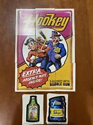 1974 Topps Wacky Packages Original 9th Series Complete Set Tan Back W/ Puzzle