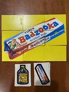 1974 Topps Wacky Packages 10th Series Complete Set 29/29 Tan Back W/ Puzzle