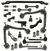 15 New Pc Control Arms Sway Bar Tie Rod Ends Kit For C1500 Suburban Tahoe Yukon