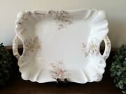 Antique Mercer Warranted China Trenton N.j U.s.a. - Serving Bowl With Handles