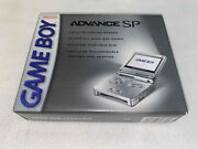 Nintendo Game Boy Advance Gameboy Gba Sp Platinum Silver System New Sealed Nm++