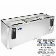 New - Mbc-80 Atosa Bottle Top Load Bar Cooler Commercial Kitchen Ss Inside And Out
