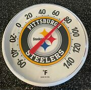 Pittsburgh Steelers Outdoor Weather Thermometer