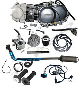 Lifan 125cc Engine Motor 4 Up Manual For Honda Crf50 Z50 Xr50 Pitbike Ct70 Crf70