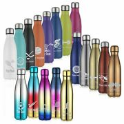 Personalized Sports Water Bottle - Engraved Sport Icon - 17 Oz - Add Text