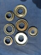Vintage Motorcycle Fork Parts Bearing Cups Covers Suit Velocette Bsa Norton