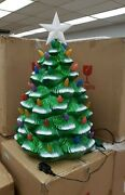 New Mr Christmas 3ft Nostalgic Blow Mold Christmas Tree Indoor Outdoor 61629