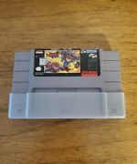 Swat Kats Snes Cart And Dustcover