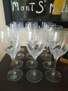 Lenox Atrium Crystal Wine Glass Set Of 12 For 382.00 For Set Of 12. Never Used.