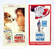 Rare Vintage 80's Honey I Shrunk The Kids And Blew Up The Baby Vhs Tapes Sealed