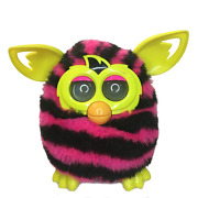2012 Furby Boom Pink, Black, And Yellow - Preowned -tested