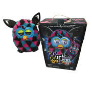 2012 Furby Boom, Tested And Working, Pink, Blue, Black W/original Box