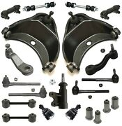21 Pc Control Arms Inner And Outer Tie Rod Ends Kit For Chevrolet Gmc Tahoe Yukon