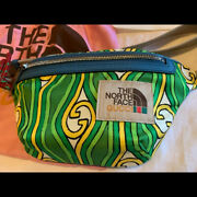 X Belt Bag Green And Gold Nwt