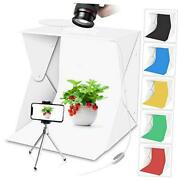 Portable Photo Studio Light Box With Lights For Product Food Photography