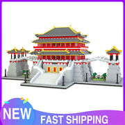 5721pcs Moc Tang Paradise Building Toys Ancient Chinese Imperial Gardens Puzzle