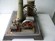 Wilsco Steam Engine Power Plant Not Complete For Parts Or Repair Sold As Picture