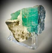 276 Ct. Colombian Emerald Mineral Specimen One-of-a-kind Collectible Rare