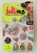 Jelli Rez Text Me Jewelry Quick Craft Kit Makes 1 Necklace 1 Ring 2 Hair Clips