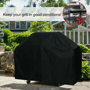 Heavy Duty Barbecue Grill Cover Bbq Smoker Waterproof Uv Protection Tool