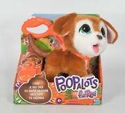 Furreal Poopalots Puppy 🐶💩 Big Wags Interactive Pet Toy Connectible Leash