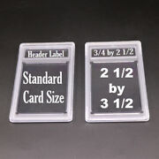 5 New Professional Unsealed Empty Graded Card Slabs Holder For Grading