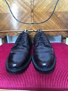 Vintage Florsheim Royal Imperial Quality V-cleat 5 Nail Shell Cordovan Size 10.5