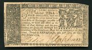 Md-68 April 10 1774 4 Four Dollars Maryland Colonial Currency Noteandnbsp