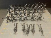 """Vintage Grey Toy Soldiers Mpc Lot Of 37 — 7 Poses 2"""""""